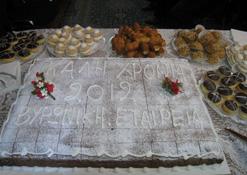 Κοπή της Πρωτοχρονιάτικης Πίτας 2012