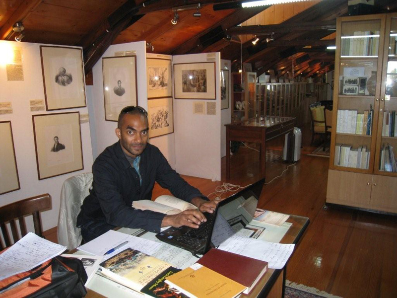 You are currently viewing Joshua D. Gonsalves, is working in the Byron Research Center
