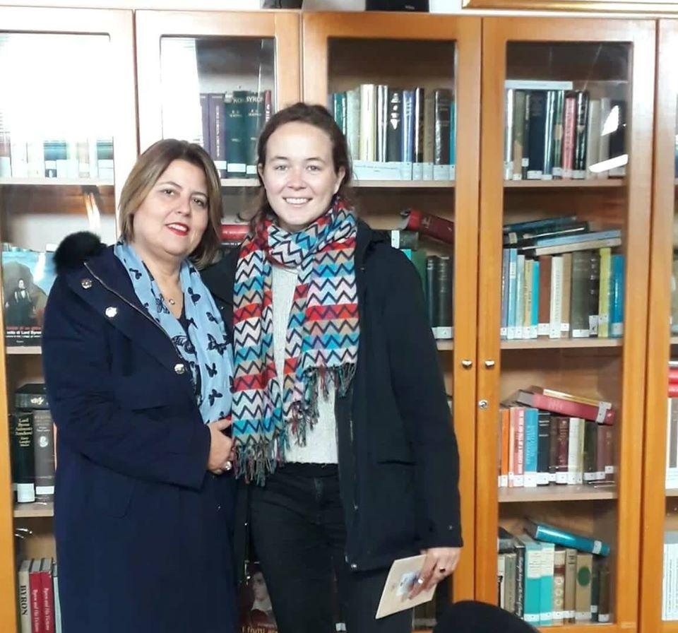 Επίσκεψη Annas Broadbent