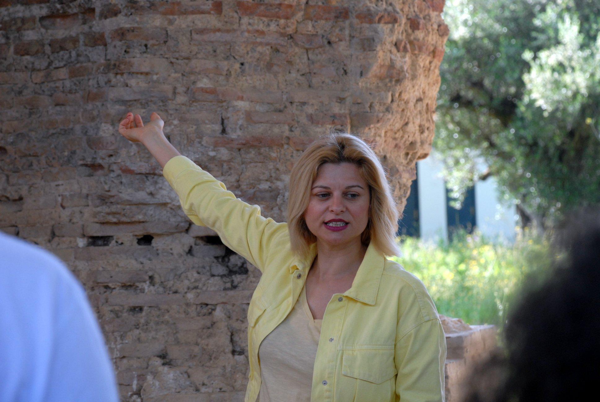 14o Διεθνές Φοιτητικό Βυρωνικό Συνέδριο, Επίσκεψη στις Ρωμαϊκές Θέρμες Αγίου Θωμά