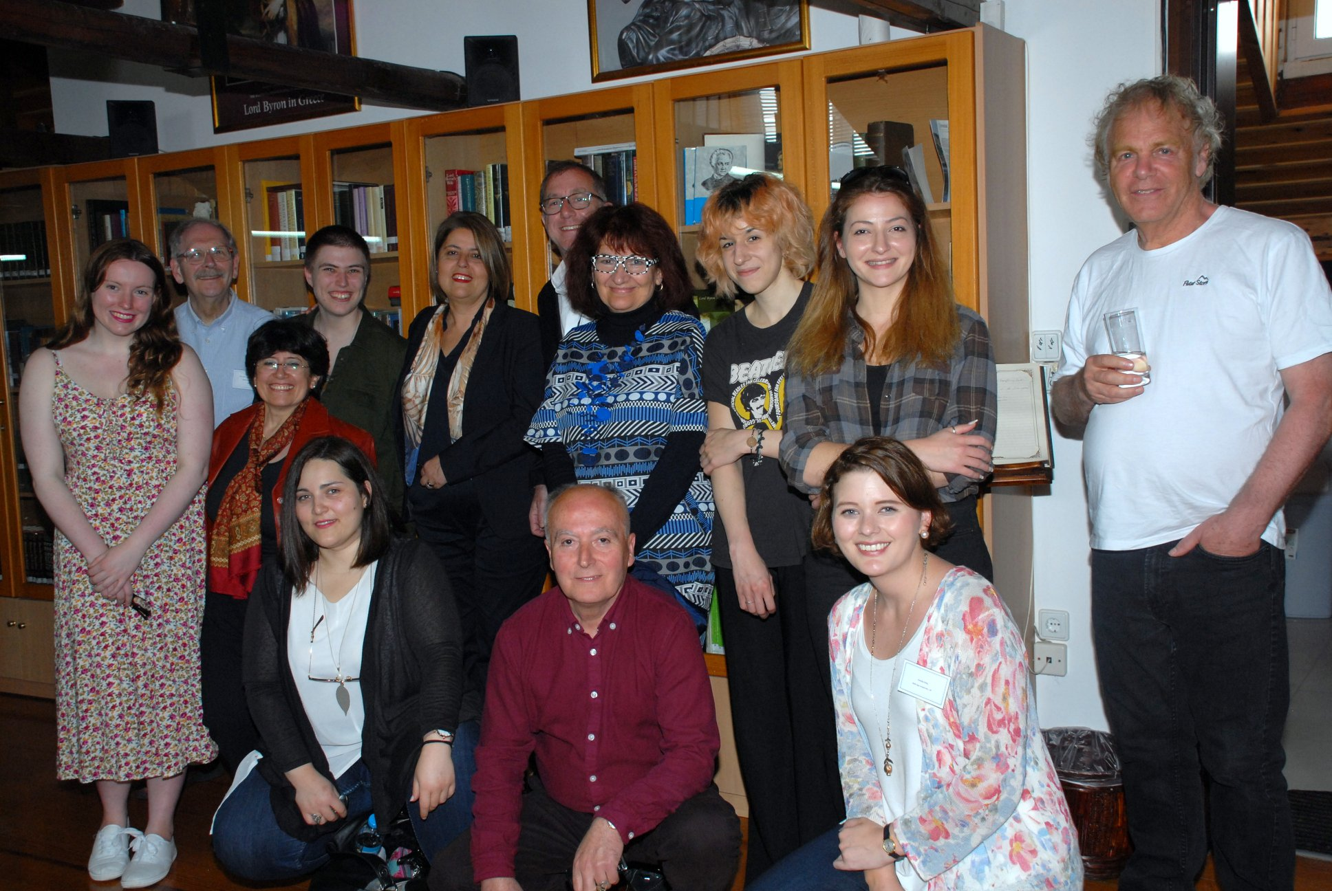 14o Διεθνές Φοιτητικό Βυρωνικό Συνέδριο, Υποδοχή Συνέδρων στην Βυρωνική Εταιρεία