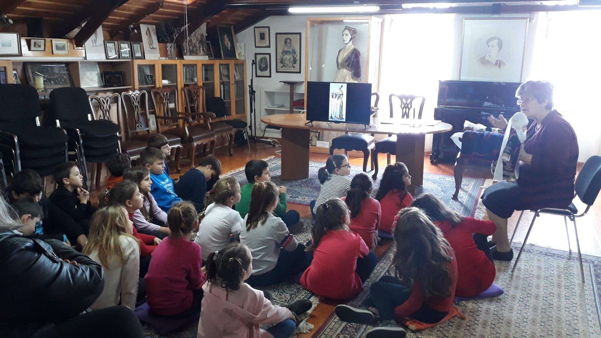 Το 12ο Δημοτικό Σχολείο Αγρινίου στη Βυρωνική Εταιρεία