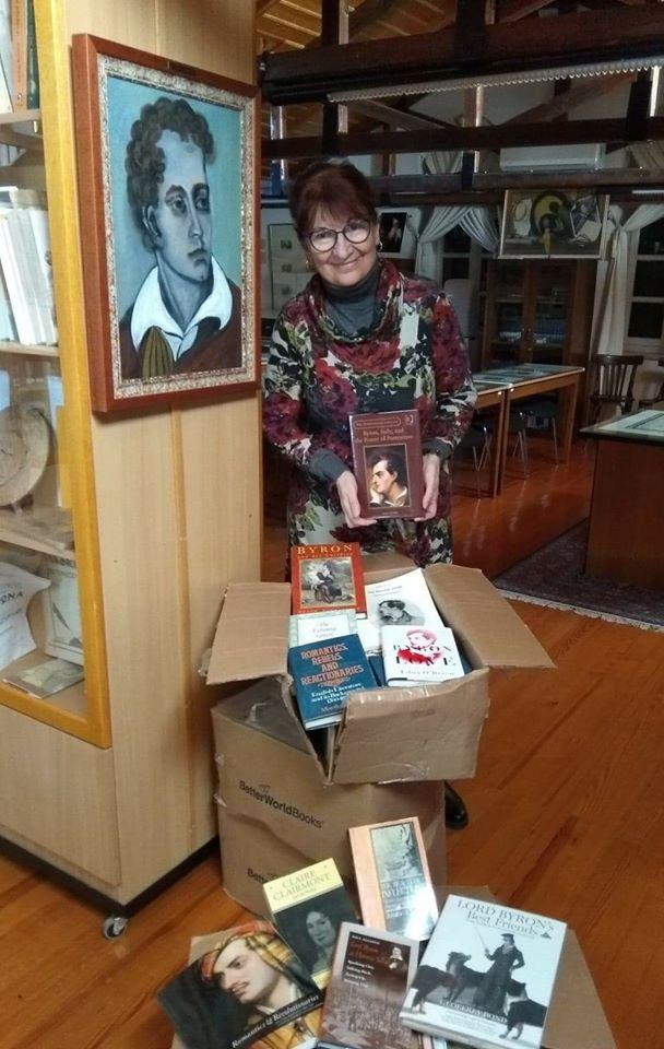 Ένας νέος θησαυρός πολύτιμων βιβλίων δωρεά στην βιβλιοθήκη της Β.Ε.Μ από την Βυρωνική Εταιρεία Αμερικής.