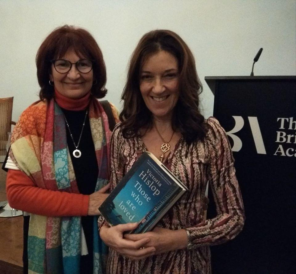 """Παρουσίαση του νέου βιβλίου της Best-selling συγγραφέως Victoria Hislop (Βικτώρια Χίσλοπ) """" Those Who Are Loved"""""""