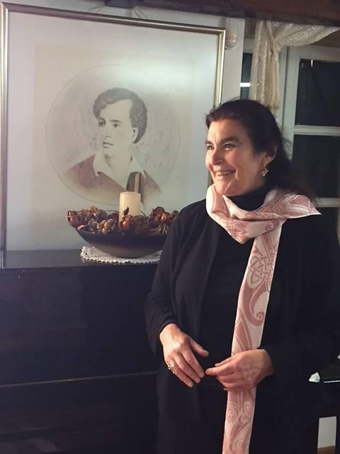 Επίσκεψη κυρίας Λυδίας Κονιόρδου στην Βυρωνική Εταιρεία Ιεράς Πόλεως Μεσολογγίου