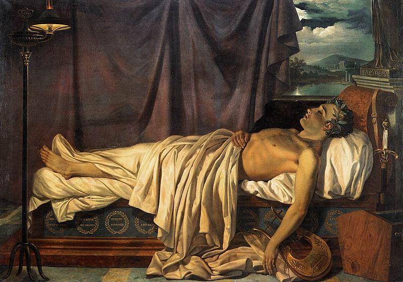 Μεσολόγγι 19 Απριλίου 2020. Σαν σήμερα στο Μεσολόγγι πριν από 196 χρόνια πέθανε ο Άγγλος ρομαντικός ποιητής και Φιλέλληνας, Λόρδος Βύρων